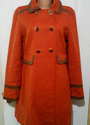 Плотный плащ-пальто  асос