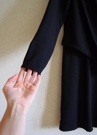 Стильное минималистичное платье mango с драпировкой2