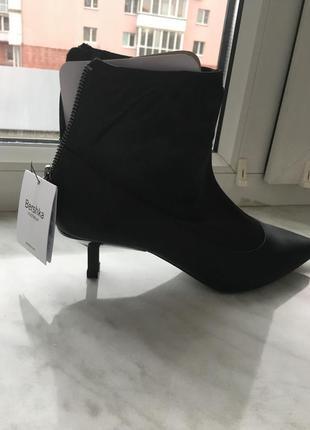 Сатиновые ботинки bershka 36p