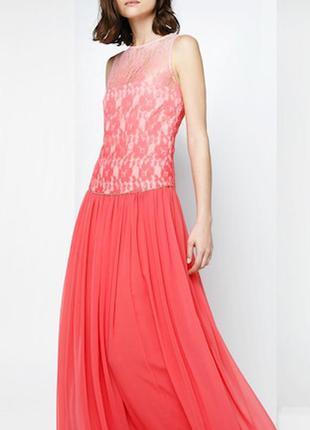 Выпускное вечернее платье mango