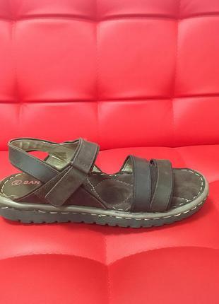 Мягкие удобньіе сандали san marina стелька 25,5 - 26 см