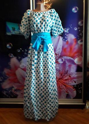 Воздушное, легкое и ультрамодное платье - батал!