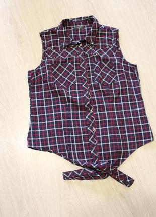 Рубашка,блуза с коротким рукавом,брендовая(см так же др объявления)