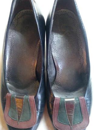 Кожаные туфли semler