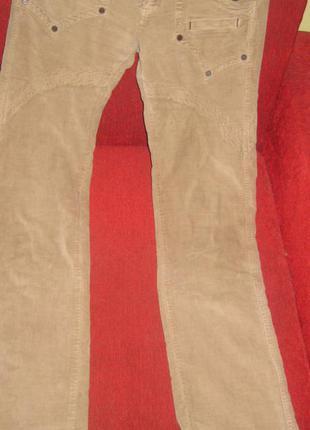 Стильные вельветовые  брюки по низкой цене