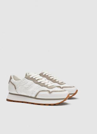 Кожаные кроссовки, 36-40