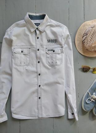 Рубашка в спортивном стиле №94 cedarwood state