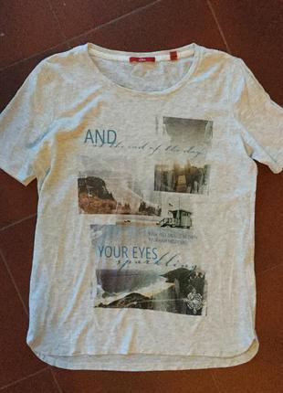 Прикольная футболка s oliver