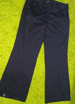 Черные брюки штаны