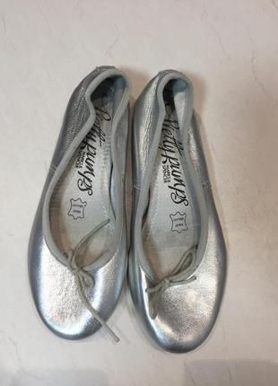 Кожаные балетки marks& spencer