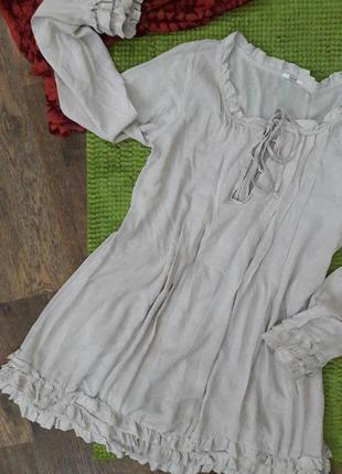 Пляжная рубашка- платье