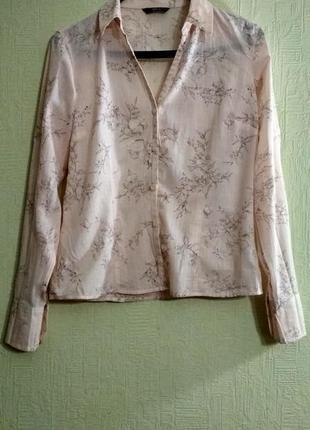 Цветная рубашка marks & spencer