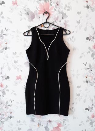 Платье черное atmosphere