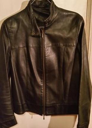Куртка кожа marks & spencer