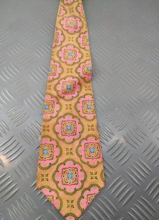 Этно замшевый галстук