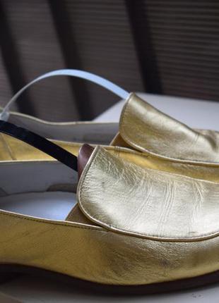 Кожаные туфли лоферы мокасины габор gabor р.5 1\2 р.38/39 25 см