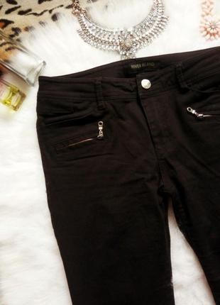 Новые черные джинсы скинни river island американки джеггинсы узкачи