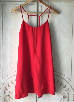 Платье трапеция от бренда topshop