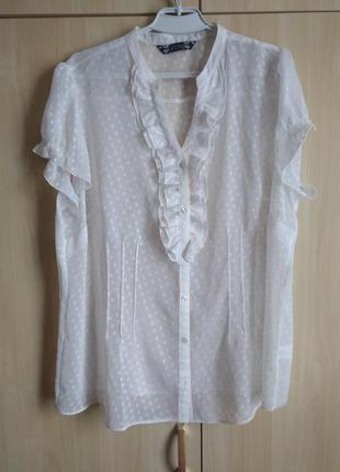 Нежнейшая блуза большого размера 22 р.