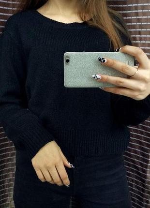 ▪ свитер черный h&m