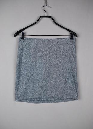 Красивая серая мини-юбка от h&m