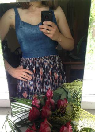 Цікаве літнє плаття (сарафан)