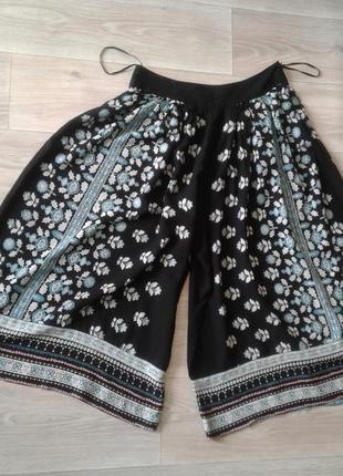 Стильные шорты-юбка monsoon, размер 8