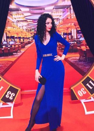 Плаття h&m синього кольору