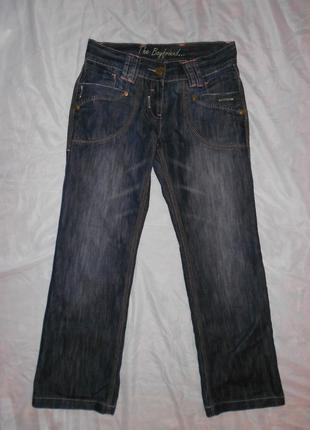 Темно-синие джинсы бойфренды next на средний рост, р.10, s-m