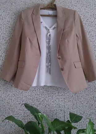 Шикарный статусный пиджак жакет блейзер esprit
