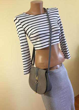 ><мода и стиль<>замшевая сумка><3 фото