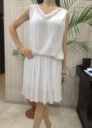 Чудесное шелковое платье италия