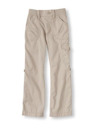 Хлопковые брюки-бриджи 2-в-1 children's place на девочку 9-10 лет