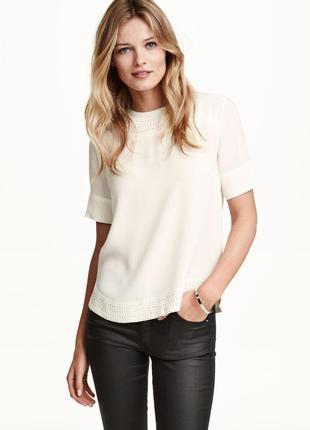 Блуза h&m 34