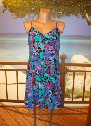Платье\сарафан из вискозы р.8-10 monki
