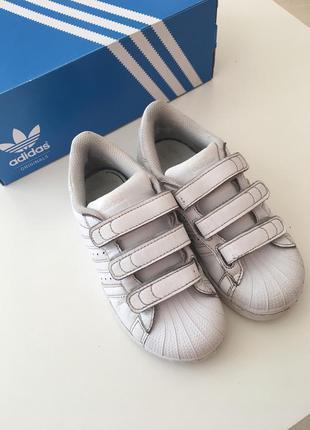Детские кроссовки adidas superstar 30,5 размер4