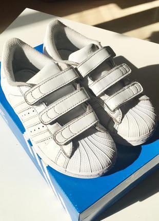 Детские кроссовки adidas superstar 30,5 размер1