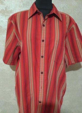 Классная фирменная рубашка wrangler, размер 48-50