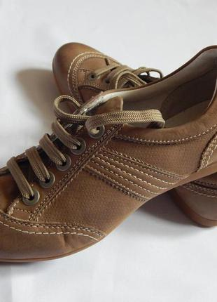 Кожанные туфли*мокасины geox (размер 36)