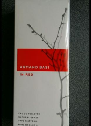 Женский парфюм armand basi red 100мл