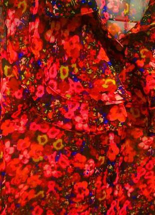 Актуальная яркая блузка george!4 фото