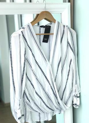 Блузка, блуза f&f новая с бирками