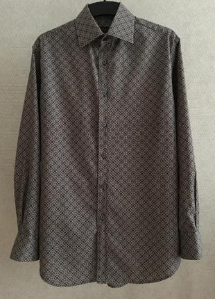 Мужская рубашка с принтом paul smith