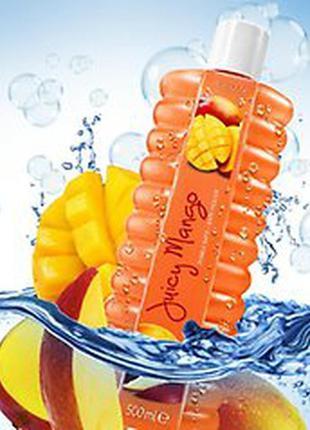 """Ароматная пена для ванн avon """"сочное манго"""" 500мл"""