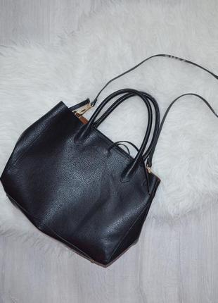 Стильная сумка-шоппер h&m