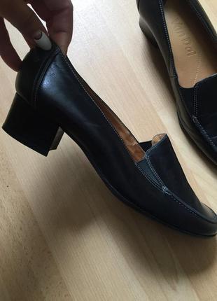 Туфли мокасины clarks