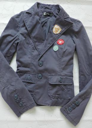 Стильний молодёжный пиджак only жакет піджак