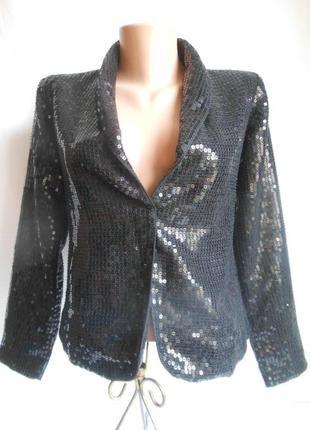 Блестящий пиджак next.оригинал!сделано для англии.