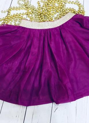 Очаровательная фатиновая юбка от crazy8, размер 3т  и 4т