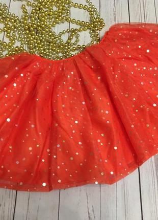 Фатиновая юбка от crazy8  размер 3т и 4т